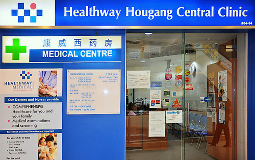 Healthway Hougang Central Clinic Singapore.