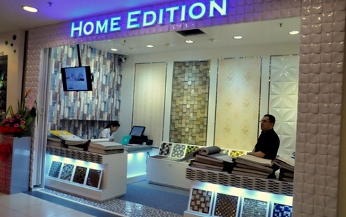 Home Edition wall decoration store Hougang Mall Singapore.
