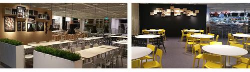 IKEA Swedish restaurant Tampines Singapore.