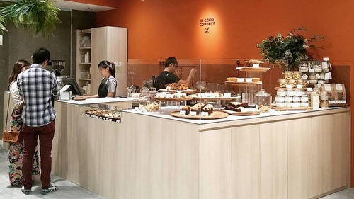 IN GOOD COMPANY Café by Plain Vanilla ION Orchard Singapore.