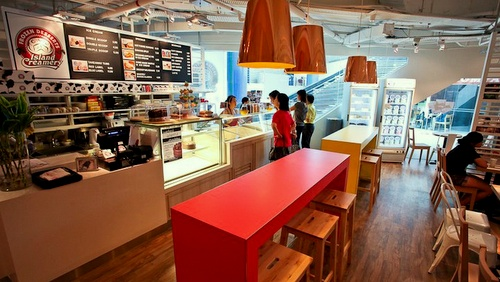 Island Creamery ice cream cafe Singapore.