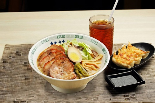 Keika Ramen meal Singapore.
