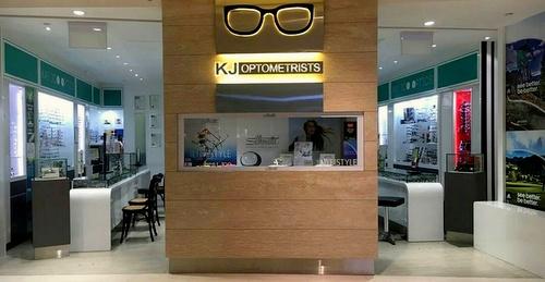 KJ Optometrists optical store Singapore.