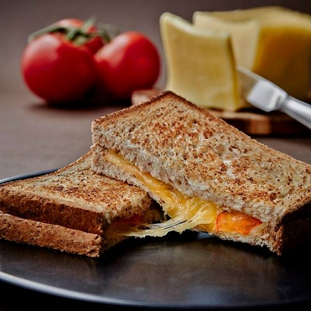 London Sandwich Co. Cheese and Tomato Toasties.