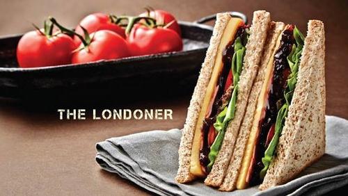 """London Sandwich Co. """"The Londoner"""" Sandwich."""