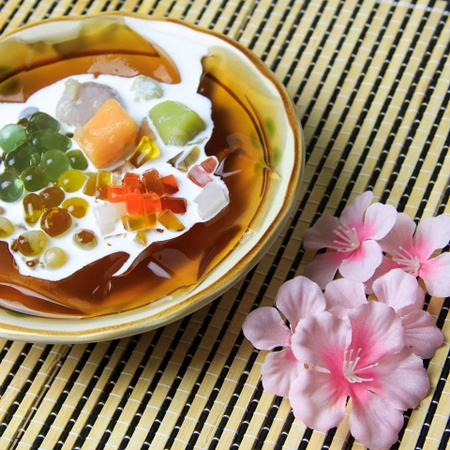 Nine Fresh Taiwanese dessert meal Singapore.