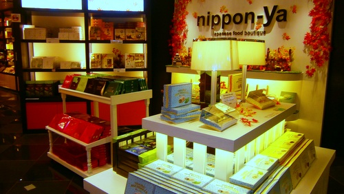 Nippon-ya Japanese food & gift store ION Orchard Singapore.