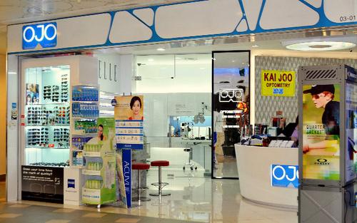 OJO Optometry optical store Tampines 1 Singapore.