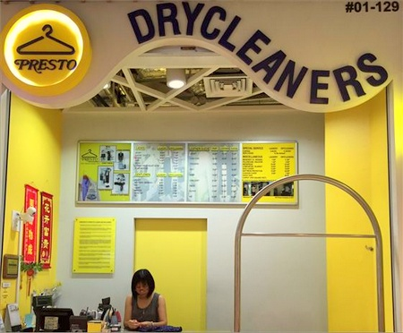 Presto Drycleaners IMM Singapore.
