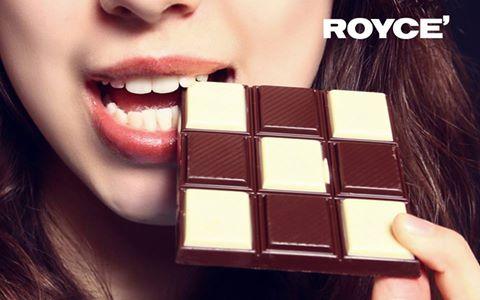 Royce' chocolate bar Singapore.