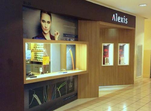Alexis Eyewear Boutique Ngee Ann City Singapore.
