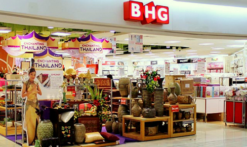 BHG department store Century Square Singapore.