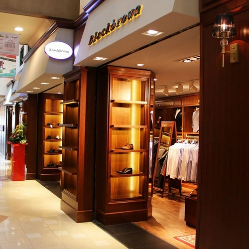 BlackBrown store Bugis Junction Singapore.