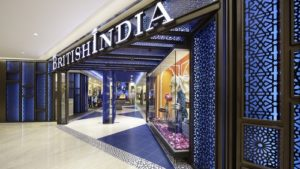 BritishIndia store Ngee Ann City Singapore.