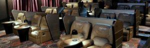 Cathay Cineplexes Platinum Movie Suites seating Singapore.