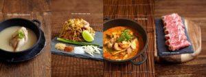 COCA Thai restaurant meals Singapore.
