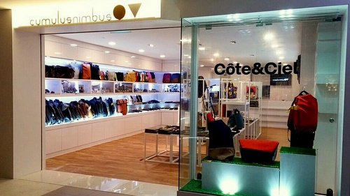 CumulusNimbus bag & accessories store Bugis Junction Singapore.