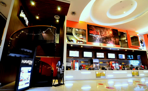 FilmGarde Cineplex movie theater Singapore.