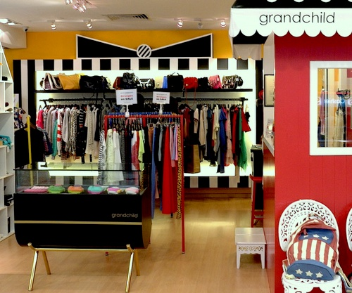 grandchild clothing store Bugis Junction Singapore.