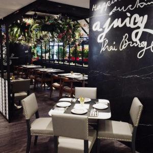 Greyhound Cafe restaurant Singapore.