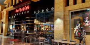 Hard Rock Cafe restaurant Sentosa Singapore.