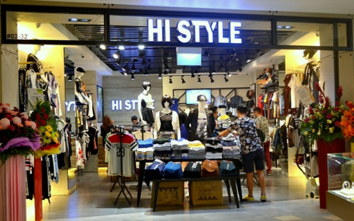 Hi Style clothing store Tampines 1 Singapore.