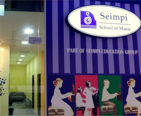 Seimpi School of Music JCube Singapore.