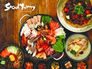 Seoul Yummy Korean cuisine meal Singapore.
