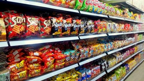 Shine Korea Supermarket snacks Singapore.