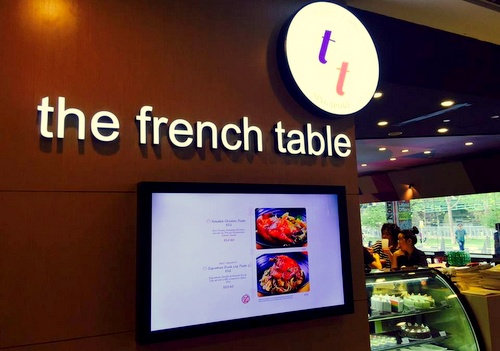 The French Table Japanese-French restaurant Northpoint Singapore.