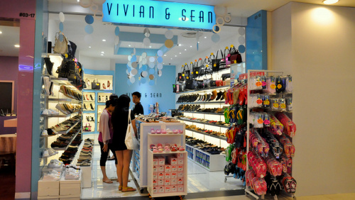 Vivian & Sean shoe store Hougang Mall Singapore.