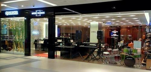Yamaha musical instrument store Westgate Mall Singapore.