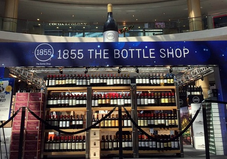 1855 The Bottle Shop wine store Suntec City Mall Singapore.