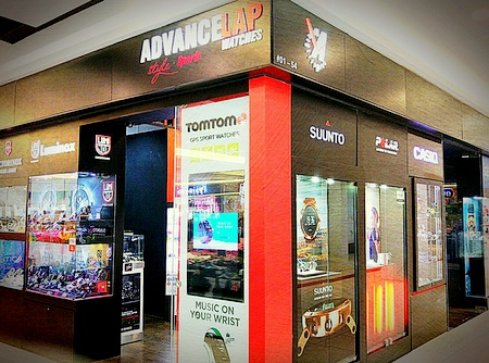 Advance Lap watch store Leisure Park Kallang Singapore.