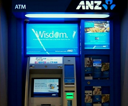 ANZ Bank ATM IMM Mall Singapore.
