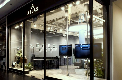 Atlas Experience Audio Visual Boutique Millenia Walk Singapore.