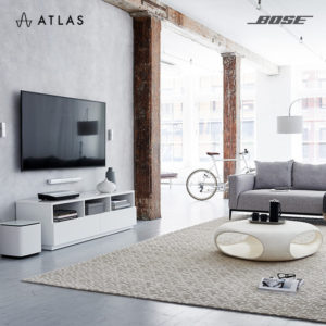 Atlas Sound and Vision Bose Lifestyle 650 home entertainment system Singapore.
