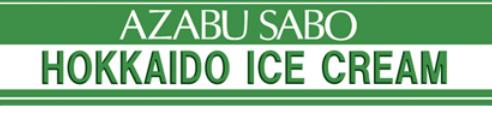 Azabu Sabo Hokkaido Ice Cream shop Singapore.