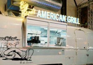 Big Bern's American Grill restaurant Timbre+ Singapore.