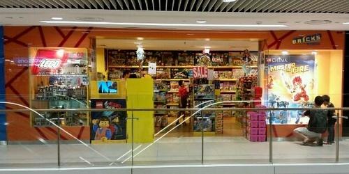 Bricks Empire LEGO toy store Junction 8 Singapore.