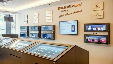 BullionStar precious metals shop Singapore.