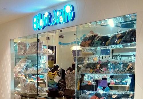 Bumwear store Plaza Singapura Singapore.
