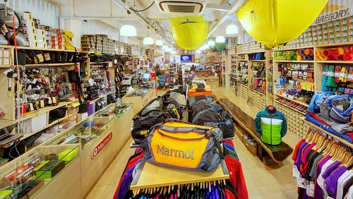 Campers' Corner outdoor & camping store Singapore.