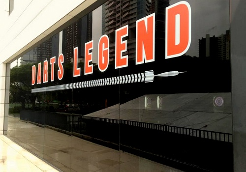 Darts Legend store & bar *Scape Singapore.