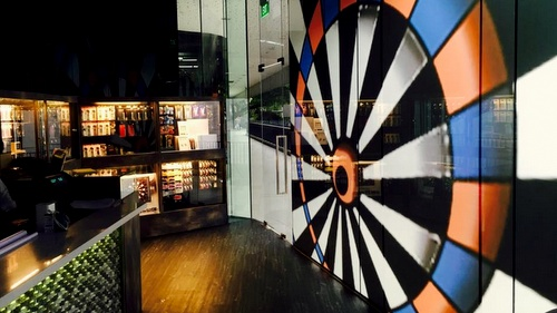 Darts Legend store *Scape Singapore.