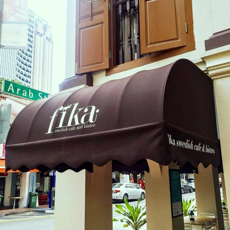 Fika Swedish Café and Bistro Beach Road Singapore.