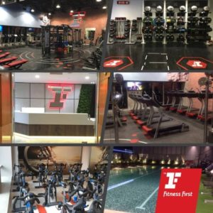 Fitness First gym Capital Tower Singapore.
