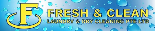 Fresh & Clean laundry and drycleaning Singapore.