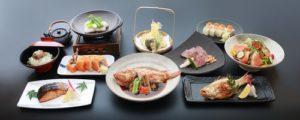 Ginza Kuroson Japanese seafood meal Singapore.