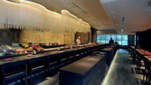 Ginza Kuroson Japanese seafood restaurant Takashimaya Shopping Centre Singapore.